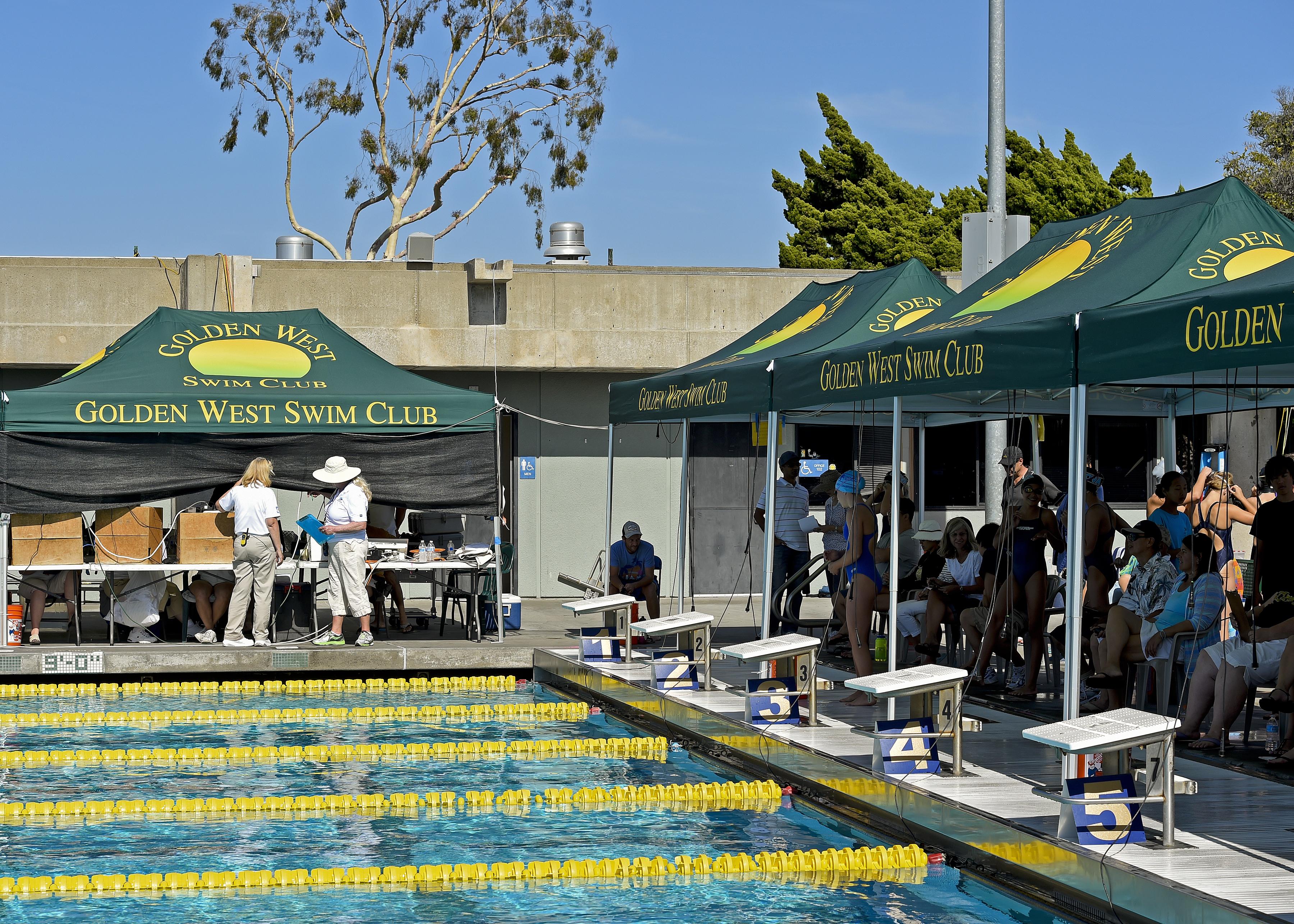 golden west swim club time standards