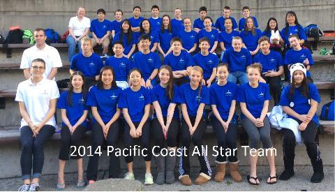 pacific all star swim meet 2013