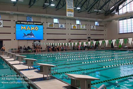 GMU Aquatic Center - Mako Fall Invitational