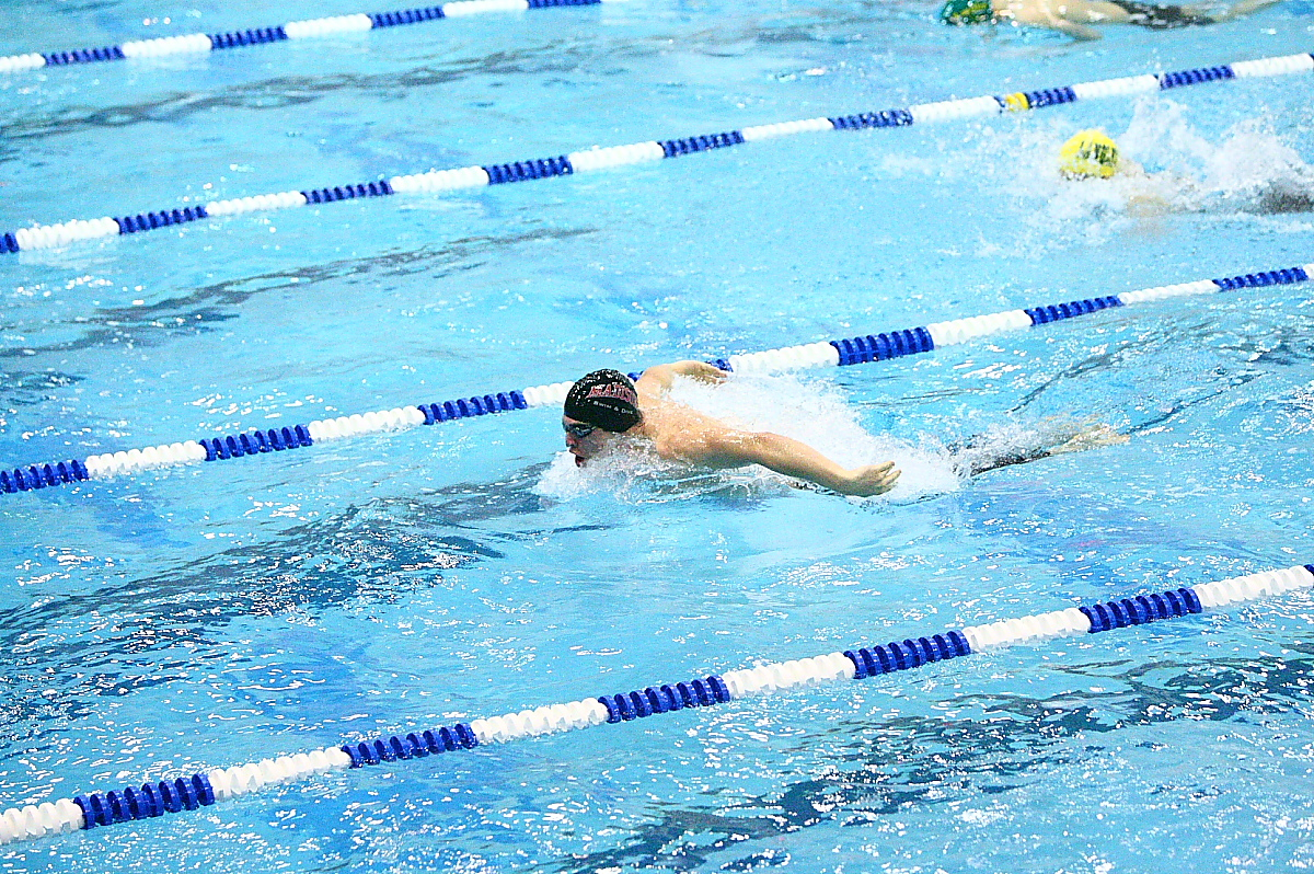 Sean Fletcher Swimming Butterfly