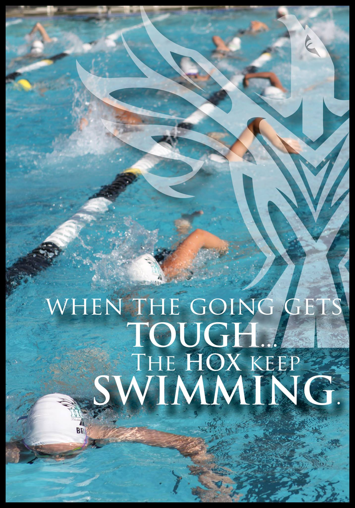 HOX Swimmers Rally at the 2009 League Championship