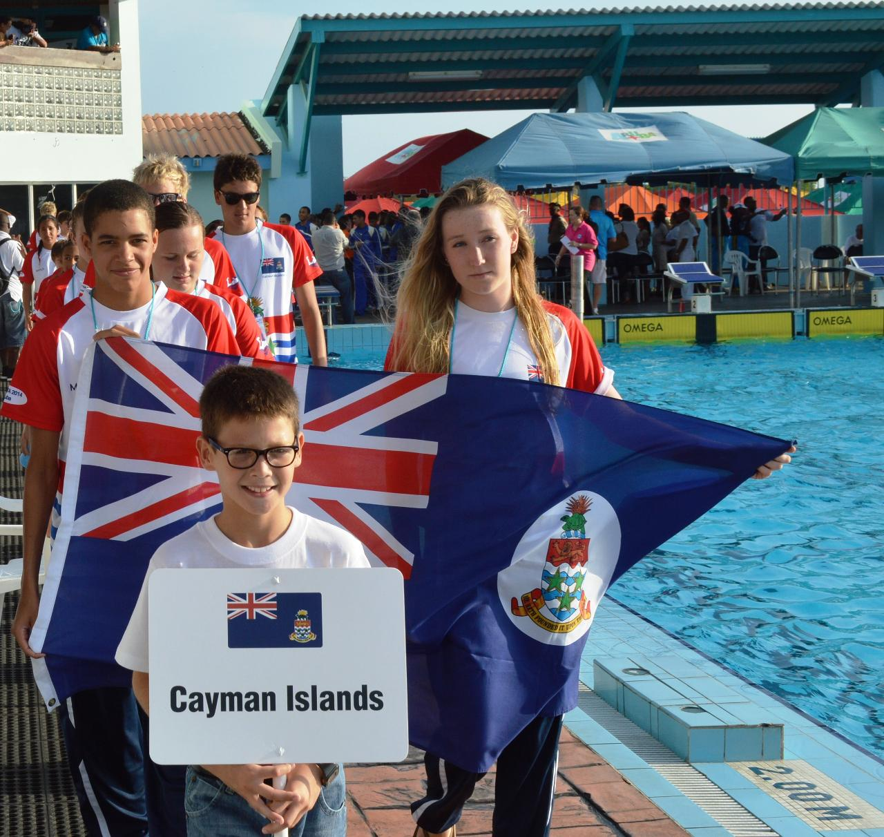 amateur Cayman association islands swimming