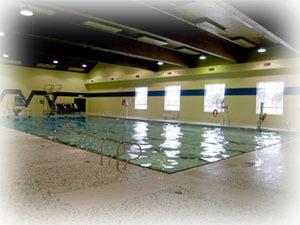 Burlington Aquatic Devilrays Angela Coughlan Pool