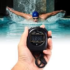 Photo of  Swimmer and stopwatch