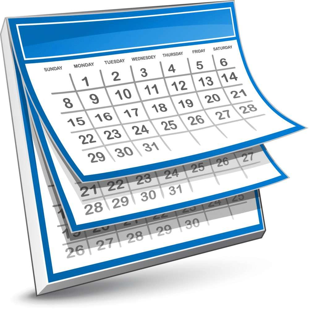 Richmond Hill Aquatic Club : Monthly Calendar