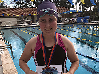 Swimmer of the Month February 2019
