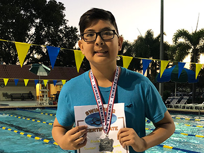 Swimmer of the Month January 2019
