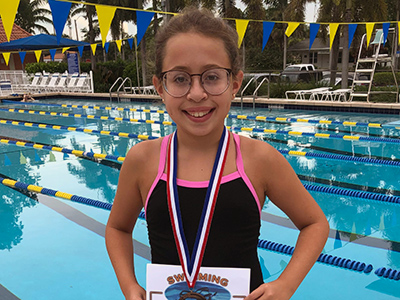 Swimmer of the Month July/Aug 2019