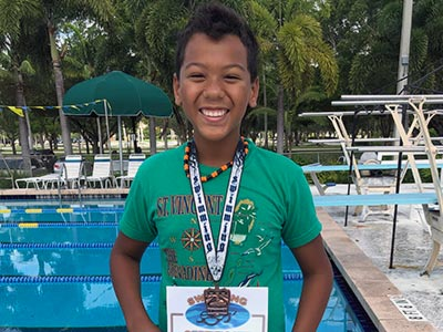 Swimmer of the Month June 2019