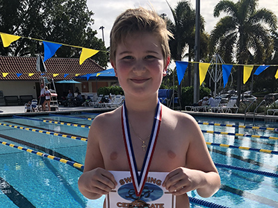 Swimmer of the Month Sep/Oct 2019