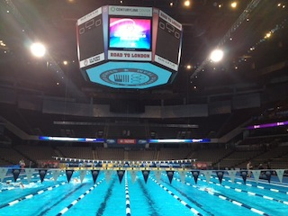 Olympic Trials 2012 swimming