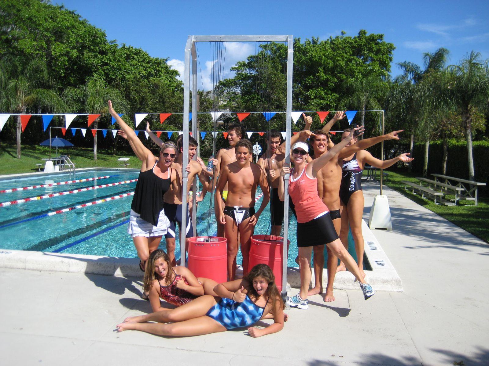 Sprint swimming program