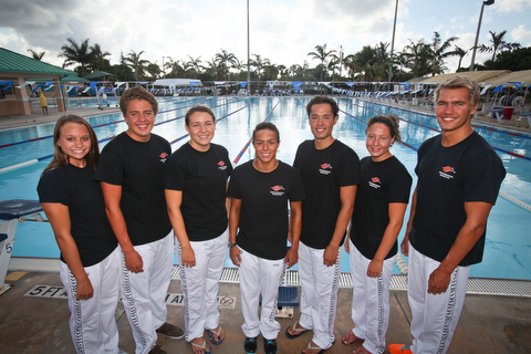 Swimming program in south Florida