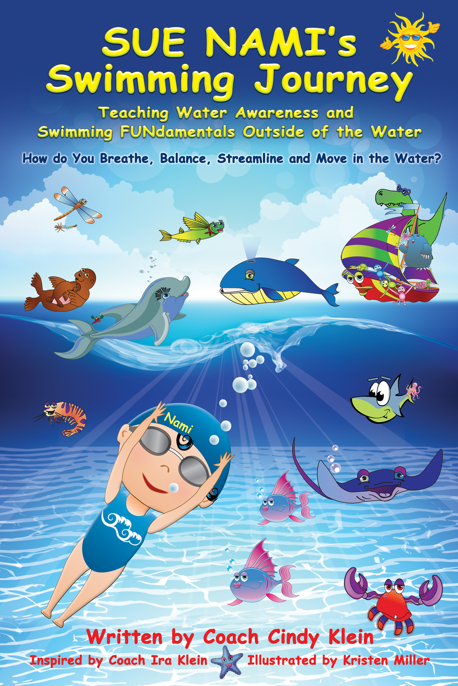 """Sue Nami's Swimming Journey"" the BOOK"