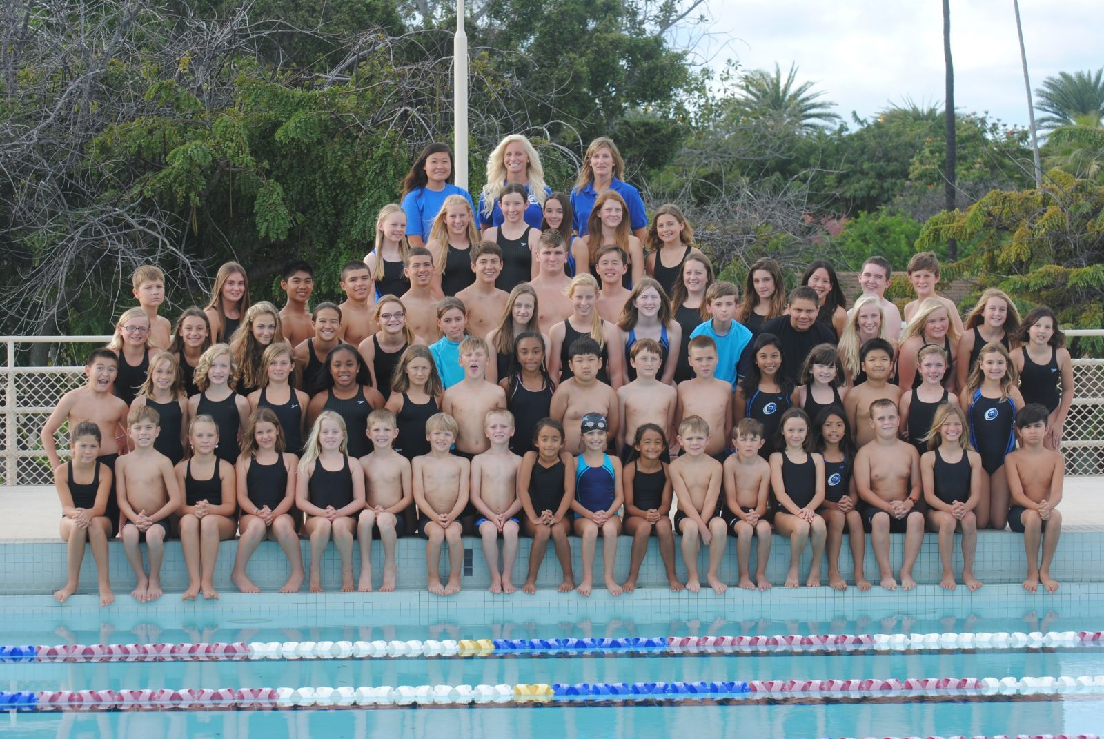 Hickam Hurricanes Swim Team Feb 2013