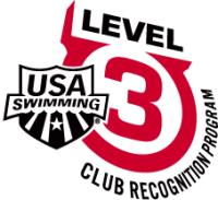 USA Swimming Level 3 Club Recognition