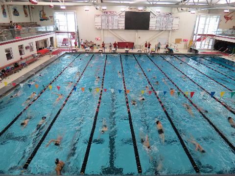 Barrington swim club for Rogers high school swimming pool