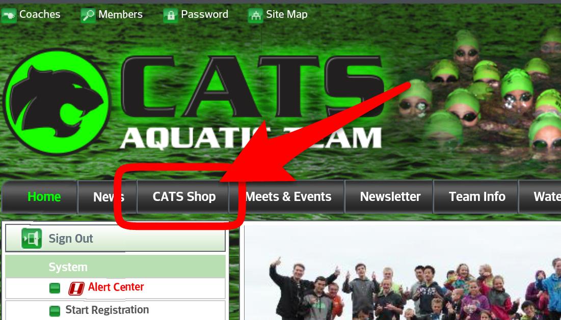 CATS Shop