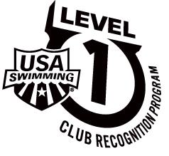 USA Swimming Club Recognition Program - Level 1