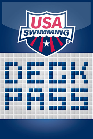 USA Swimming Deck Pass
