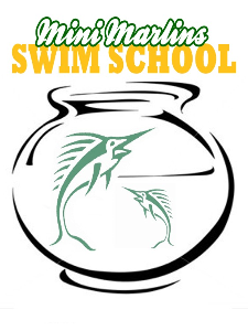 Mini Marlins Swim School Logo