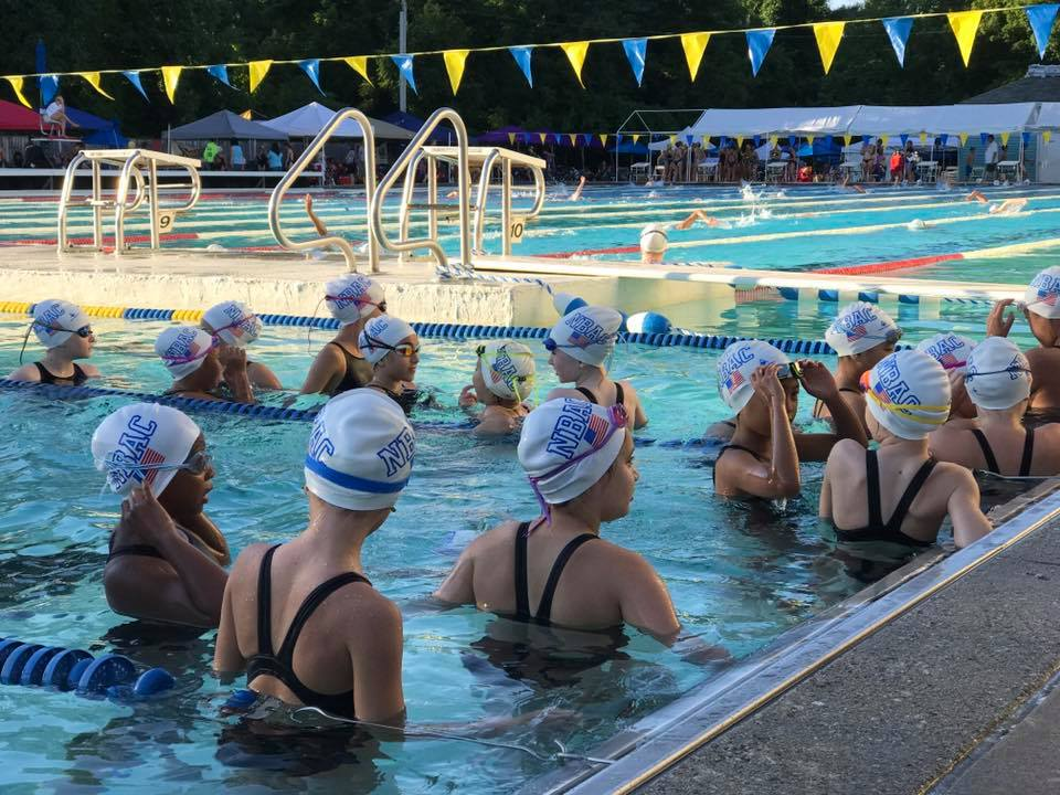 NBAC Age group swimmers at meadowbrook meet