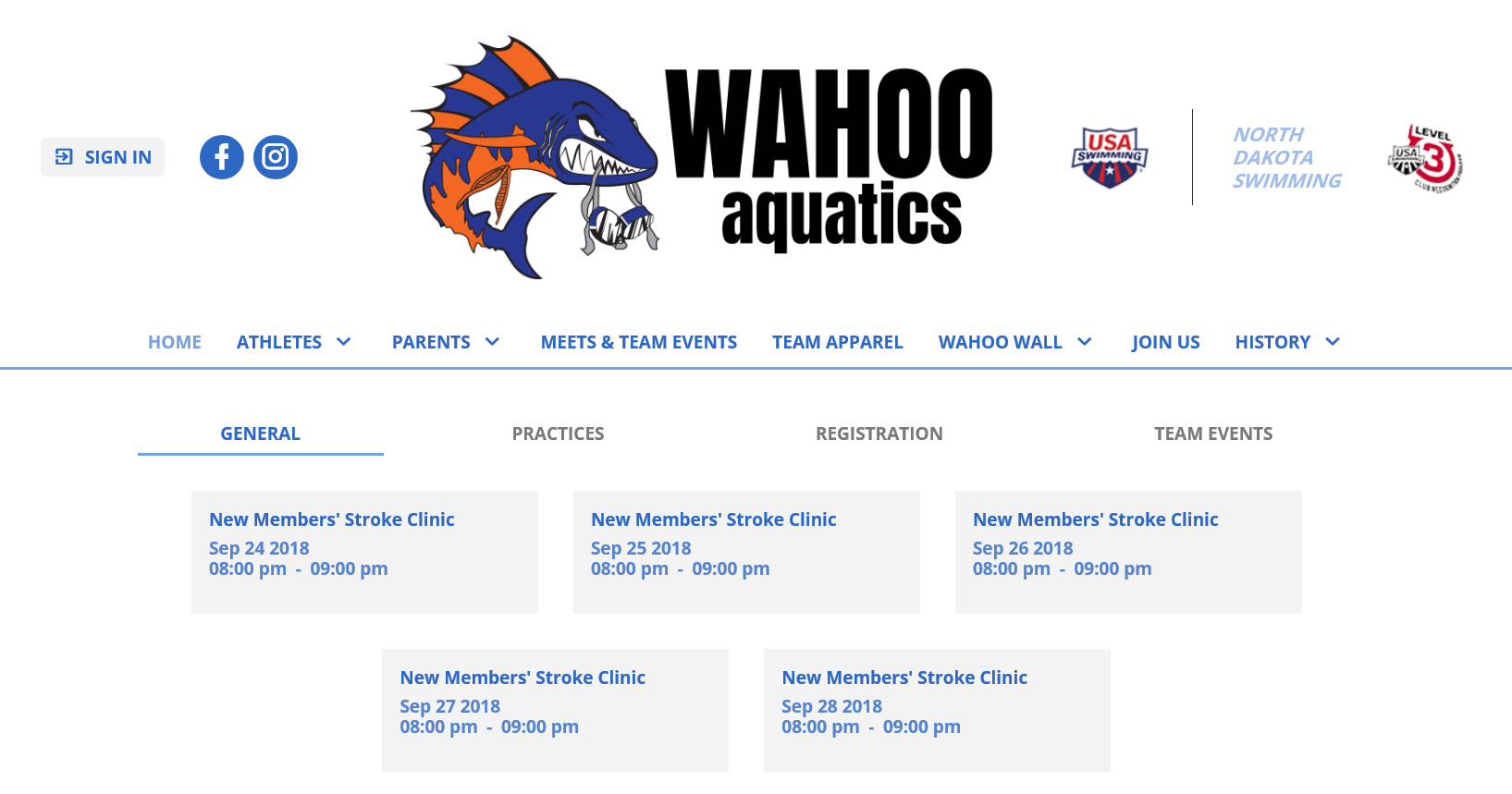 Welcome to the New Wahoo Web Site!!