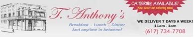 T. Anthony's