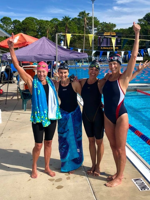 YNS Masters Win Big at the 2018 Sarasota Sharks Swim Meet