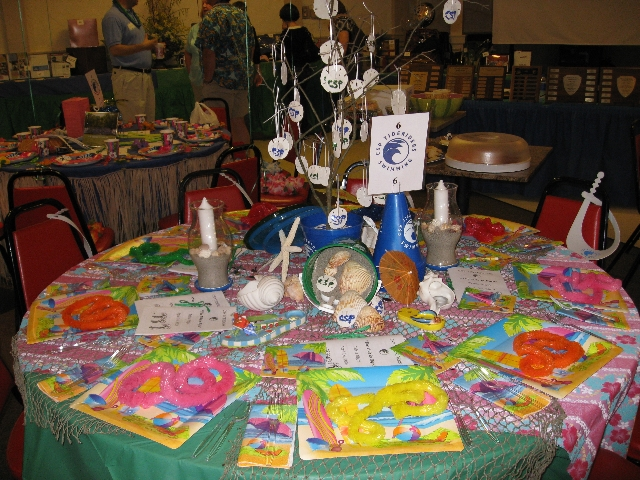 Trivia Night Table Decoration Ideas