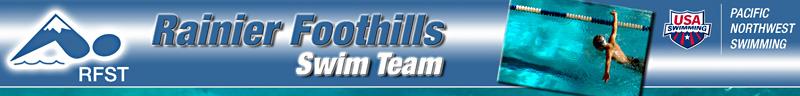 Rainier Foothills Swim Team Moses Lake Wa