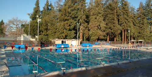 Palo Alto Swim Club Pool Location