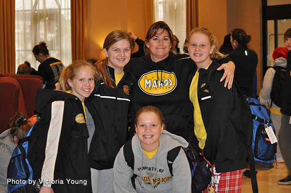 Coach Heather and 11 - 12 Girls at 2013 Diplomat Holiday Classic