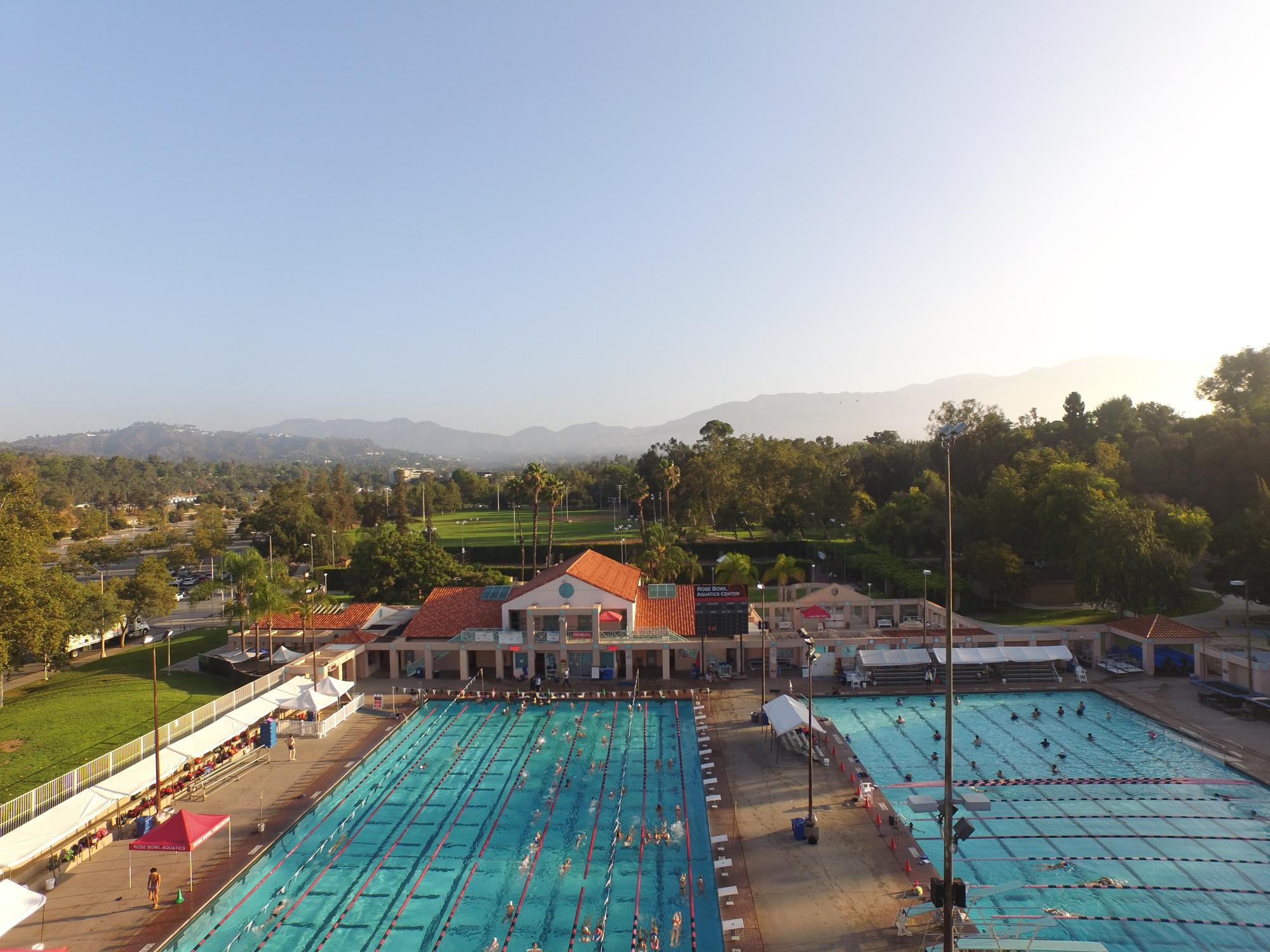 Rose Bowl Aquatics Record Swims
