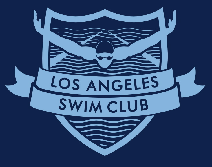 Swim Club Logo Los Angeles Swim Club