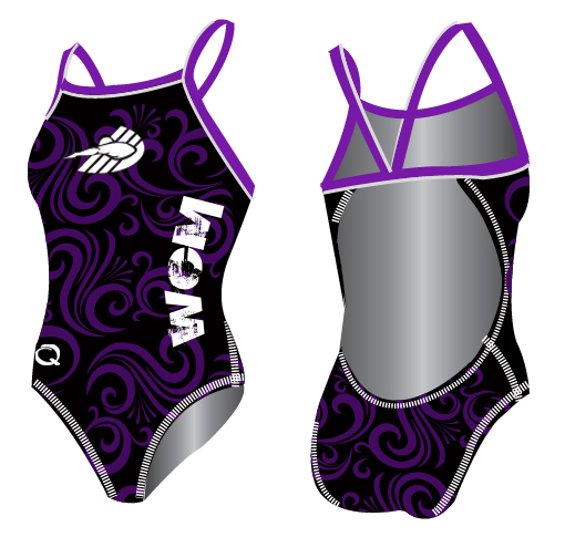 q swimsuit wcm team suit women sunback