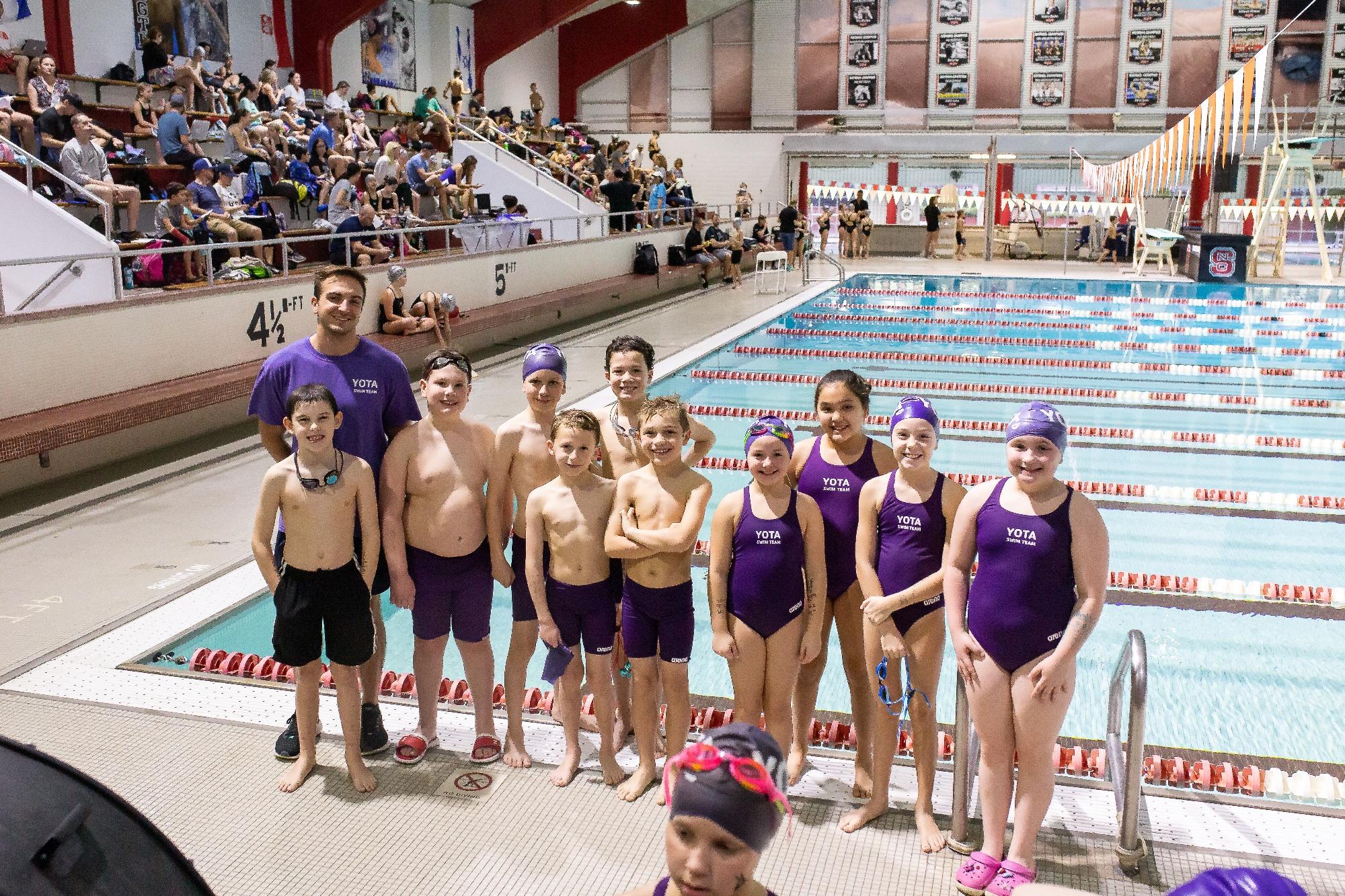 YMCA of the Triangle Area (YOTA) Swim Team Home